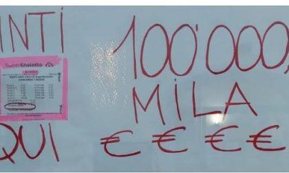 Maxi vincita a Treviglio: giocata da 100mila euro al Superenalotto