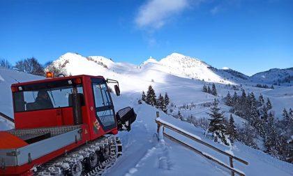 Monte Farno e Valpiana, a Gandino decisa la chiusura delle strade fino al 6 gennaio