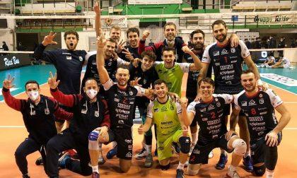 L'Agnelli Tipiesse si conferma inarrestabile e vince anche a Siena dagli ex