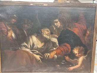 All'aeroporto di Orio al Serio sequestrato un quadro risalente al 1600