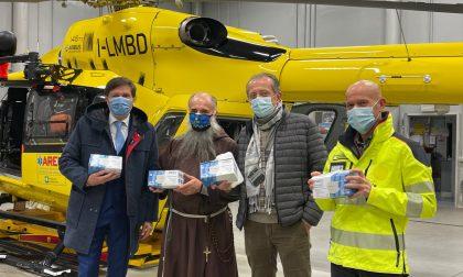 Sorpresa per gli operatori sanitari del Papa Giovanni: donate diecimila mascherine