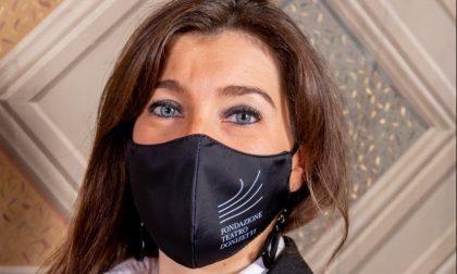 Anche Fondazione Teatro Donizetti ha le sue mascherine (donate da due aziende)