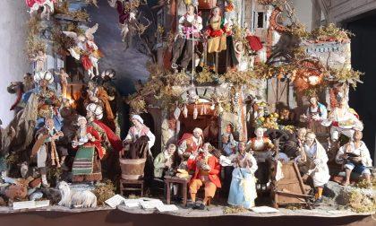 Le immagini del bellissimo presepe esposto a Palazzo Frizzoni e donato dalla Campania
