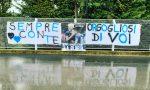 A Zingonia striscioni di sostegno a Gasperini e Gomez: «Insieme abbiamo scritto la storia»
