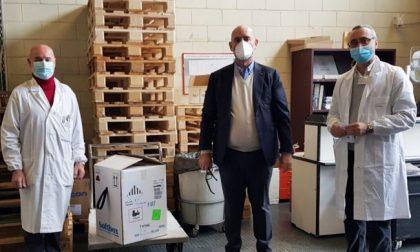 Le prime dosi di vaccini anti-Covid sono arrivate anche all'ospedale di Treviglio