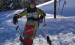 Da Colere a Valzurio su uno sci: il video dell'impresa di Franco Tonoli, scialpinista paraplegico