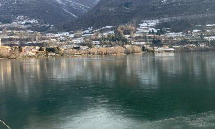 Il Lago di Endine torna a ghiacciare