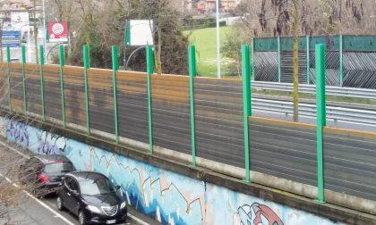 Valtesse, la sostituzione delle barriere fonoassorbenti è al palo