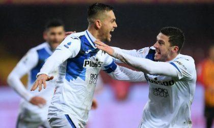 Appoggio di Romero (per Ilicic) e gol di Toloi: i difensori atalantini con licenza d'offendere