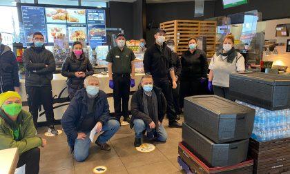 Il McDonald's di Treviglio donerà, con Banco Alimentare, cento pasti a settimana