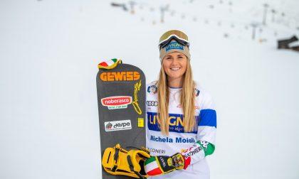 Per Michela Moioli la Coppa del Mondo parte alla grande: a Valmalenco domina e vince