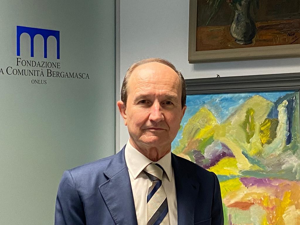 Fondazione della Comunità Bergamasca, Osvaldo Ranica è il ...