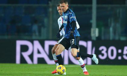 L'Atalanta va alla carica ma non abbatte il muro del Genoa (0-0)