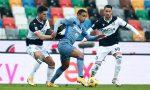 Niente da fare, l'Atalanta si ferma anche a Udine: Pereyra e Muriel firmano l'1-1 finale