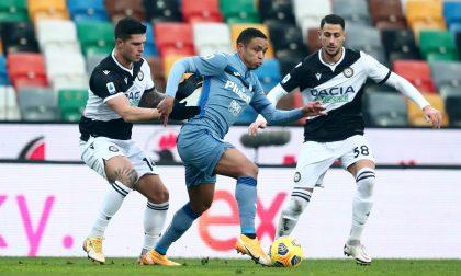 L'Atalanta non aggancia il terzo posto: finisce 1-1 la sfida con l'Udinese