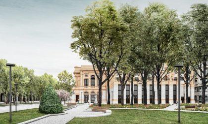 Piazza Cavour e il Sentierone si preparano a cambiare volto: ecco come saranno