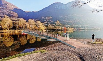 Lago di Endine, una passerella unirà le due sponde tra Spinone e Monasterolo
