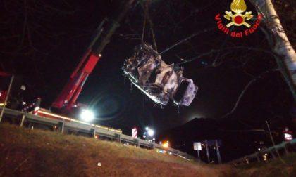 Chi era il 55enne di Rogno morto nell'auto in fiamme in Val Camonica