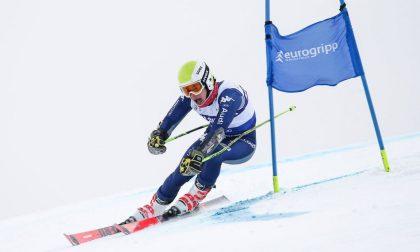 Primi punti in Coppa del Mondo di slalom gigante per Filippo Della Vite, di Ponteranica