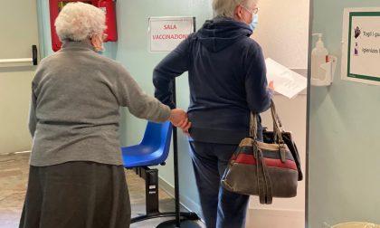 Prima giornata di vaccinazioni per gli over 80: in Bergamasca somministrate 195 dosi