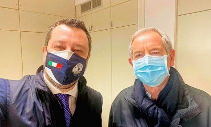 Vaccinazioni anti-Covid, Salvini vuole proporre il «modello Lombardia» a Draghi