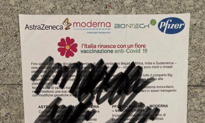 Volantini falsi con considerazioni no vax, Carretta: «Vanno rimossi e denunciati»