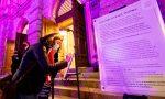"""""""Facciamo luce sul teatro"""", ecco i messaggi lasciati al Donizetti"""