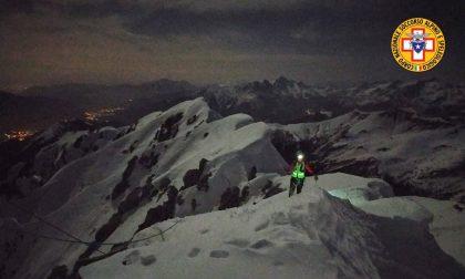 Ricerche sulla Presolana, trovato il corpo senza vita dell'escursionista 67enne di Vertova