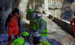 Anziano di 78 anni scivola sul ghiaccio e si infortuna: soccorso sulla Via Mala