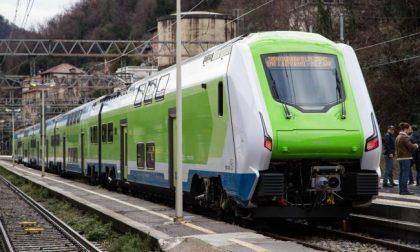 I nuovi treni Caravaggio fanno il loro esordio anche sulla tratta Bergamo-Milano