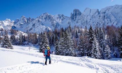 Il bianco spettacolo della Conca dei Campelli, meraviglie nascoste sotto la neve
