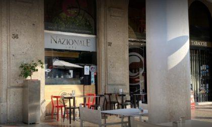 Il Sentierone perde un altro pezzo: serrande abbassate al Nazionale Café