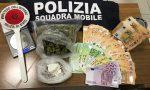 Cocaina, marijuana e 32mila euro in casa, in arresto un 27enne a Telgate