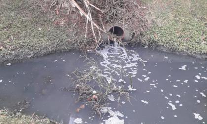 Guasto alla Diachem, acque contaminate finiscono nel fosso