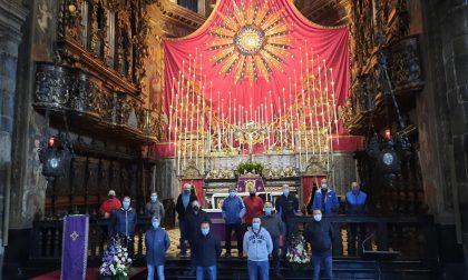Arte e devozione, in Basilica a Gandino splende la Raggiera dei Caniana
