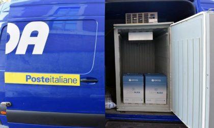 Anche a Bergamo sono arrivati i primi vaccini AstraZeneca consegnati da Poste Italiane