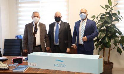 L'imprenditore bergamasco a capo della Noor e il dono all'ospedale di Istanbul