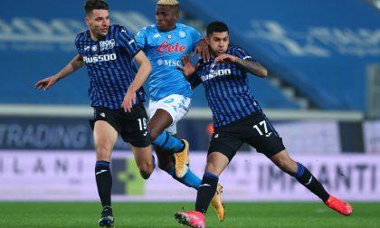 Muriel straordinario, fa segnare e segna. Il Napoli accorcia le distanze, ma poi ci pensa Romero: 4-2
