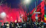 Foto e video dei tifosi dell'Atalanta fuori dallo stadio (nonostante le raccomandazioni)