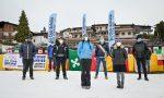 Foto e video del flash mob per non dimenticare le località turistiche alpine