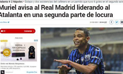 Verso Atalanta-Real, a Madrid iniziano a preoccuparsi: questo Muriel mette paura