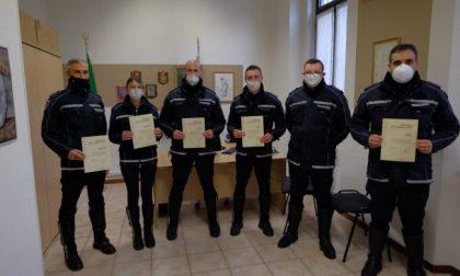 Lotta al Covid, La Regione ha premiato sei agenti della Polizia Locale di Brembate, Capriate e Chignolo