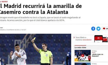 """Secondo il giornale spagnolo """"As"""", il Real farà ricorso contro l'ammonizione a Casemiro"""