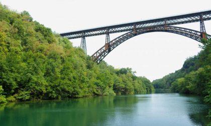 Rally di 6mila chilometri attraverso sei ponti storici (tra cui il San Michele di Paderno)