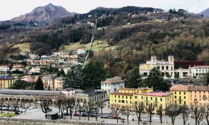 San Pellegrino: procedono i lavori al Grand Hotel, completati quelli della funicolare