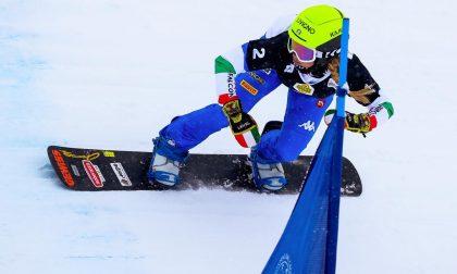 Michela Moioli combatte, ma a Veysonnaz è seconda: Coppa del Mondo alla Samkova