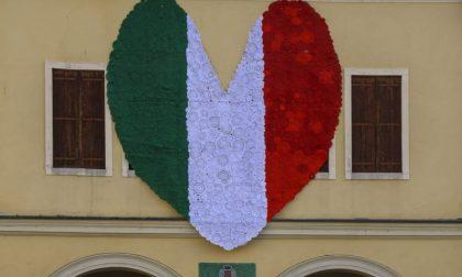 Da Vo' Euganeo a Bergamo, il grande cuore tricolore in ricordo delle vittime del Covid