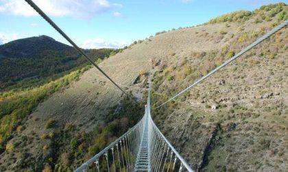 Dossena avrà il suo ponte tibetano. Appaltati i lavori, al via nelle prossime settimane