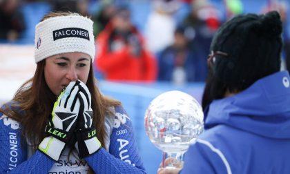 Gare annullate a Lenzerheide, Sofia Goggia vince la Coppa del Mondo di discesa