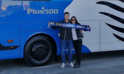 Da Solza a Madrid per stare vicino all'Atalanta: la storia di Graziano e Cinzia